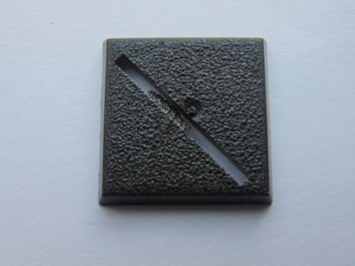 square base 25mm (slotta)